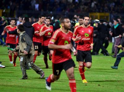 Spieler der Al-Ahli-Mannschaft