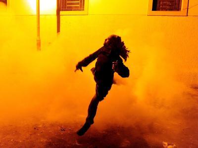 In Kairo kam es zu schweren Auseinandersetzungen zwischen Demonstranten und Sicherheitskräften. Foto: Mohamed Omar