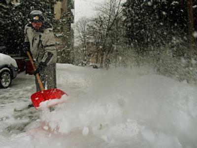 Schnee in Belgrad