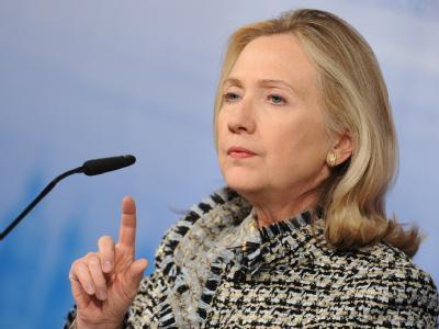 US Außenministerin Hillary Clinton auf der 48. Münchner Sicherheitskonferenz: «Europa ist und bleibt für uns der Partner der ersten Wahl». Foto: Andreas Gebert