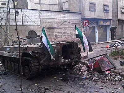 Kurz vor der Sitzung des zerstrittenen Weltsicherheitsrats schlug Syriens Regime in Homs noch einmal brutal zu. Foto: Local Coordination Committees LCC
