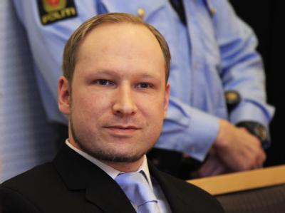 Massenmörder Anders Breivik: Er muss sich vor Gericht wegen Terrorismus verantworten. Foto: Heiko Junge/Lise Aserud