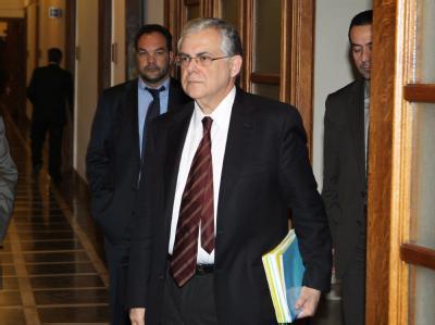 Griechenlands Ministerpr�sident Papademos