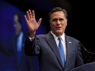 Nach Niederlagen in gleich drei Staaten hat Mitt Romney in der Kandidaten-Kür der US-Republikaner wieder Oberwasser. Foto: Jim Lo Scalzo