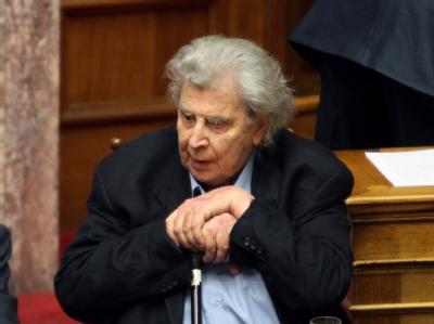 Der weltberühmte Musiker Mikis Theodorakis (86) war einst Abgeordneter für die Kommunisten. Foto: Pantelis Saitas