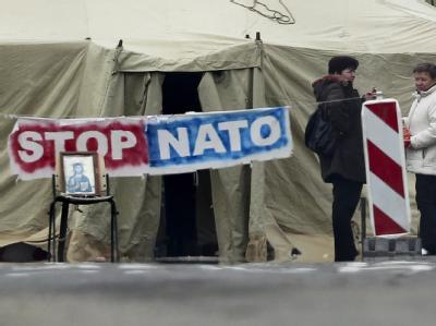 Die Serben im Norden des Kosovo stimmen über ihre Zukunft ab. Foto: Valdrin Xhemaj / Archiv