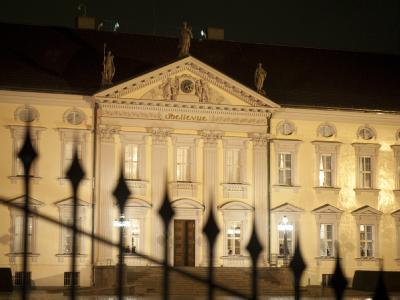 Sitz des Bundespräsidenten: Das Schloss Bellevue in Berlin. Foto: Sebastian Kahnert