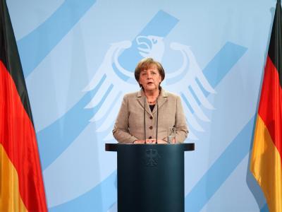 Bundeskanzlerin Angela Merkel will sich mit SPD und Grünen über die Wulff-Nachfolge beraten. Foto: Sebastian Kahnert