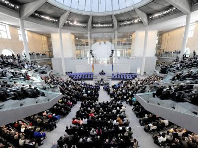 Blick in den Bundestag vor der Wahl des Bundespräsidenten durch die Bundesversammlung.  Foto: Tim Brakemeier/ Archiv