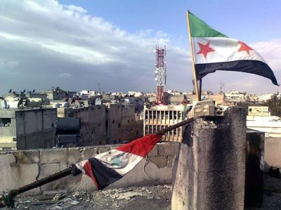 Die Angriffe auf die syrische Stadt Homs gehen weiter. Foto: Local Coordination Committees