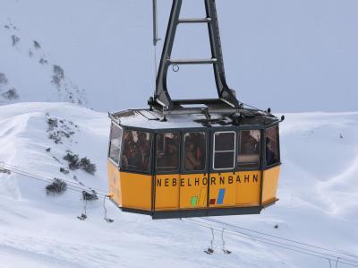 Nebelhornbahn steht still