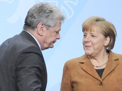 Bittere Pille für die Kanzlerin? Joachim Gauck soll nächster Bundespräsident werden. Foto: Britta Pedersen