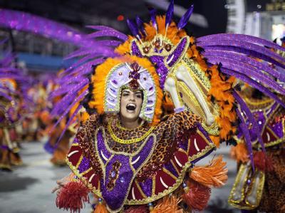 Karneval in Sao Paulo