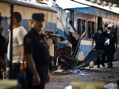 Zugunglück in Buenos Aires