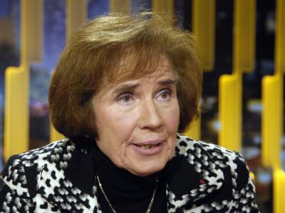 Die Nazi-Jägerin Beate Klarsfeld ist als Kandidatin der Linken für das Bundespräsidentenamt im Gespräch. Foto: Karlheinz Schindler/Archiv