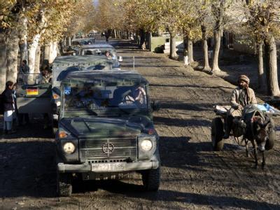 Wegen der gewaltsamen Proteste in Afghanistan hat sich die Bundeswehr vorzeitig komplett aus ihrem Stützpunkt Talokan zurückgezogen. Foto: Peter Endig/Archiv
