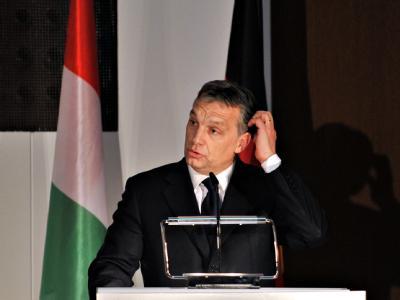 Harter Schlag für Ungarns Ministerpräsident Viktor Orban: Als erstes EU-Land verliert Ungarn Fördergelder aus Brüssel. Foto: Emily Wabitsch