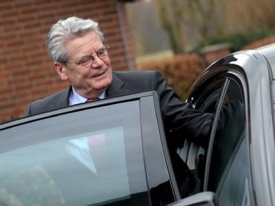 Der designierte Bundespräsident Joachim Gauck stellte sich bei der NRW-CDU vor. Foto: Caroline Seidel