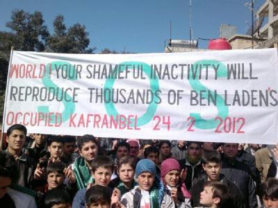 In Syrien gehen die Proteste gegen Präsident Assad weiter. In Brüssel beschließt die EU neue Sanktionen. Unklar bleibt aber, ob, wann und wie es gelingt, der Zivilbevölkerung zu helfen. Foto: dpa