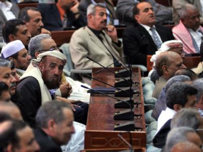 Parlamentarier im Jemen