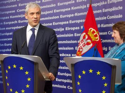 Boris Tadic in Brüssel