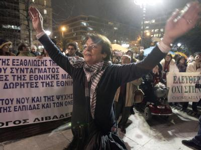 Protest in Athen