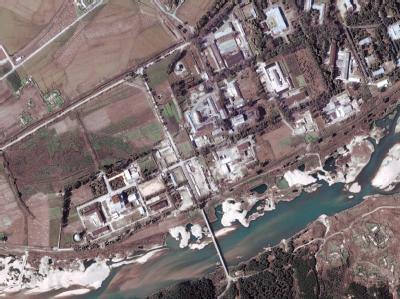 Ein Satellitenbild eines nordkoreanischen Atomzentrum Yongbyon, rund 100 nördlich von Pjöngjang. Foto: Digital Globe