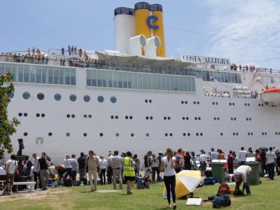 'Costa Allegra' auf den Seychellen