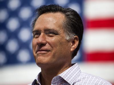 Mitt Romney hat einiges vorzuweisen: Er hat sich nicht nur als Gouverneur von Massachusetts profiliert. Er machte auch in der Privatwirtschaft Karriere. Foto: Jim Lo Scalzo
