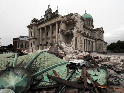 Spätes Opfer des Bebens von Christchurch: Die Kathedrale der Stadt soll abgerissen werden. Foto: David Wethey