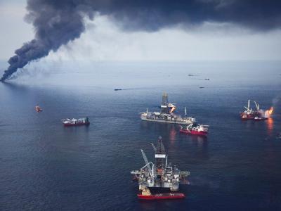Insgesamt rechnet BP mit Kosten in Höhe von alles in allem 37,2 Mrd Dollar für die Folgen des Öl-Desasters. Foto: Bevil Knapp