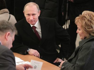 Putin und seine Frau Ljudmila