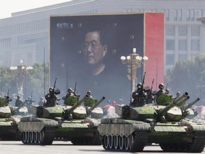 China r�stet auf