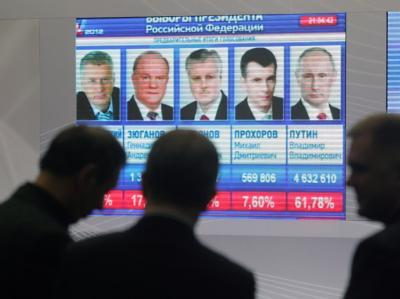 Pr�sidentschaftswahl in Russland