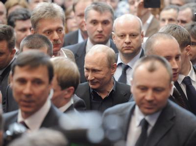 Putin am Tag nach seiner Wahl