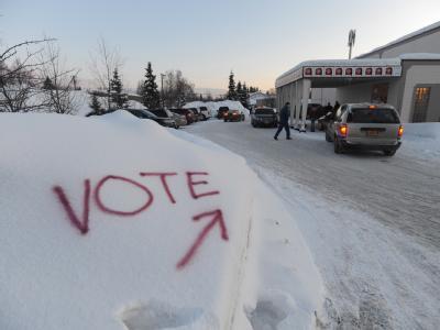 Die Mehrzahl der Republikaner in Alaska hat sich für Mitt Romney entschieden. Foto: Michael Dinneen