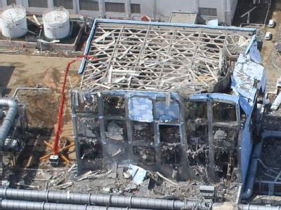 Zerst�rtes Atomkraftwerk Fukushima