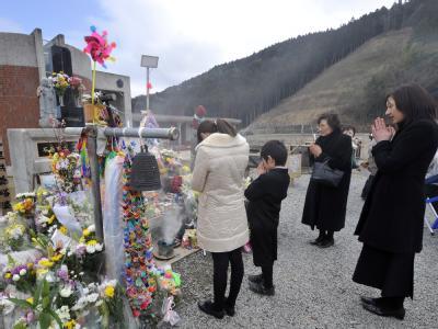 Gedenken an die Opfer des Tsunami