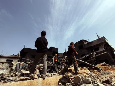 Der israelische Ministerpräsident Benjamin Netanjahu hat den Gazastreifen als «Vorposten Irans» bezeichnet. Foto: Mohammed Saber