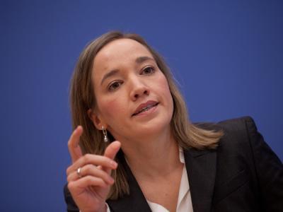 Bundesfamilienministerin Kristina Schröder: Das Betreuungsgeld war auf Druck der CSU von der Koalition beschlossen worden. Foto: Kay Nietfeld / Archiv