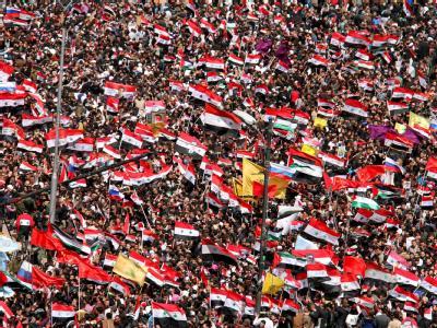 Jubelfeier in Damaskus
