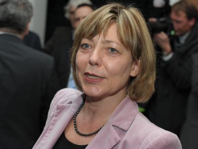 Daniela Schadt, die Lebensgefährtin von Joachim Gauck. Foto: David Ebener