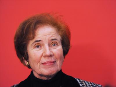 Beate Klarsfeld, Kandidatin der Linken für das Bundespräsidentenamt. Foto: Maurizio Gambarini