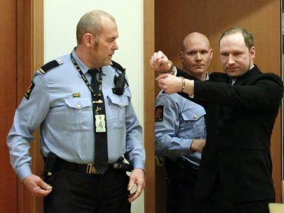 Der mutmaßliche norwegische Massenmörder Anders Behring Breivik: Vorbild für den Toulouse-Mörder? Foto: Heiko Junge/Archiv