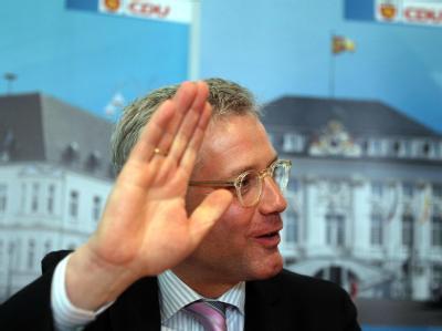 Norbert Röttgen gibt seine Kandidatur als Spitzenkandidat der Bonner CDU bekannt. Foto: Oliver Berg