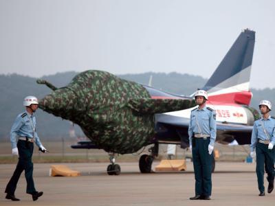 Chinesisches Stealth-Kampfflugzeug