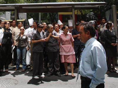 Schweres Erdbeben ersch�ttert Mexiko