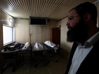 Die Terroropfer treffen in Israel ein