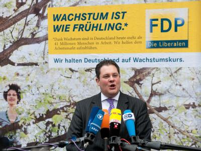 Plakataktion der FDP