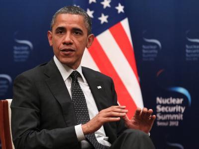 Barack Obama hat den Iran im Atomstreit gewarnt: «Die Zeit ist kurz.» Foto: Ekaterina Shtukina